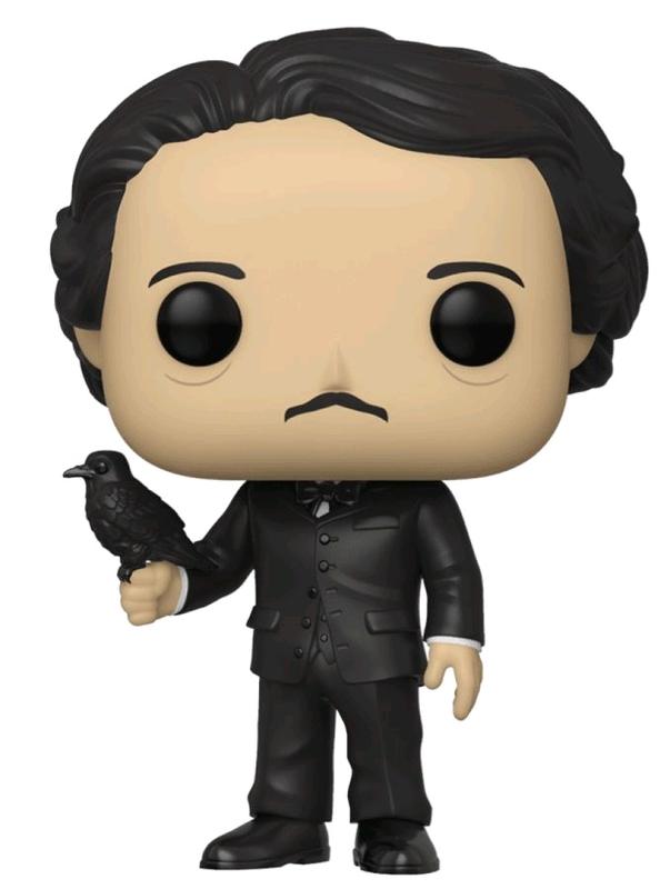Edgar Allan Poe (with Raven) Pop! Vinyl Figure