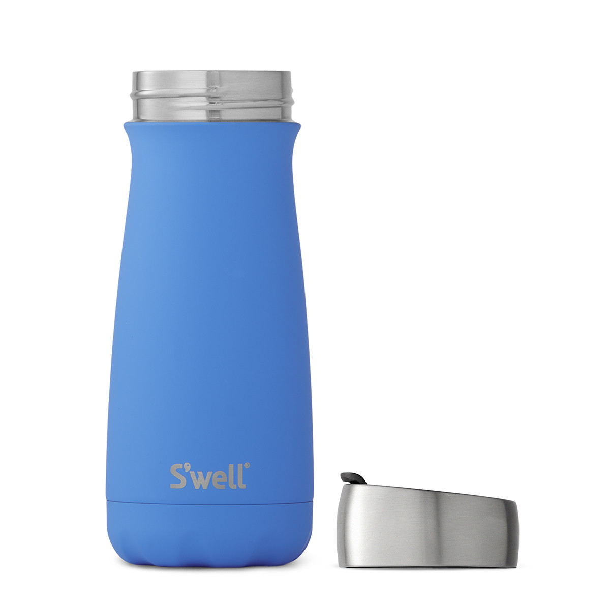 S'Well: Commuter Soft Touch Collection Insulated Bottle - Geyser (470ml) image