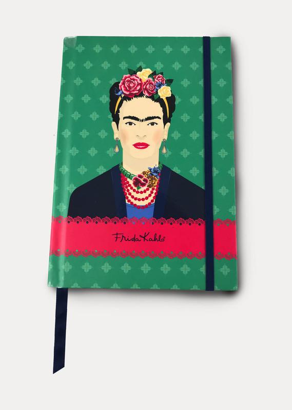 Frida Kahlo: Green Vogue Notebook (A5)