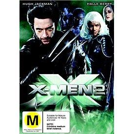 X-Men 2 on DVD image