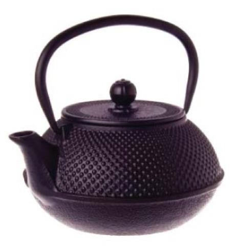 Black Hobnail Cast Iron Teapot 800ml At Mighty Ape Nz