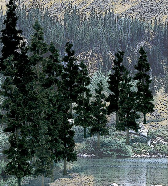 Woodland Scenics Pine Trees (24 pack)