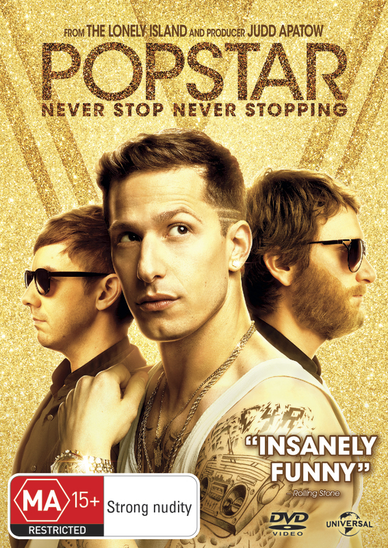 Popstar - Never Stop Never Stopping on DVD