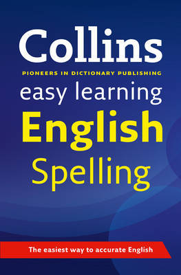 Easy Learning English Spelling by Collins Dictionaries image