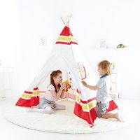 Hape: Teepee Tent - Red