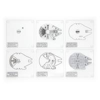 Star War: Millennium Falcon - Coaster Set image