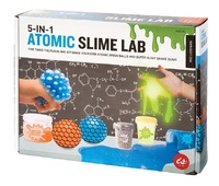 IS Gifts: Atomic Slime Lab - 5-in-1 Science Kit