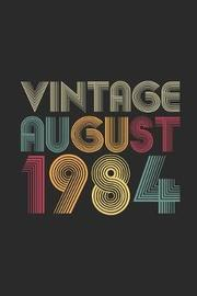 Vintage August 1984 by Vintage Publishing image
