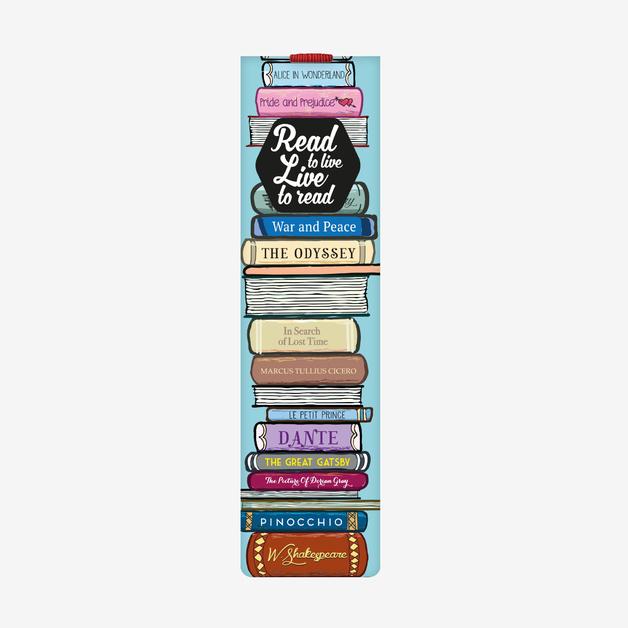 Legami: Aphorism Bookmark With Elastic Band - Read