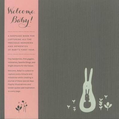 Welcome Baby Book (Girl) by Dan Zadra