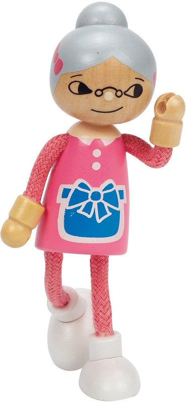 Hape: Grandmother Wooden Doll