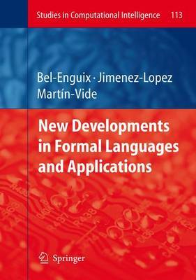 New Developments in Formal Languages and Applications image