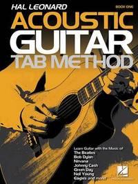 Hal Leonard Acoustic Guitar Tab Method by Michael Mueller image