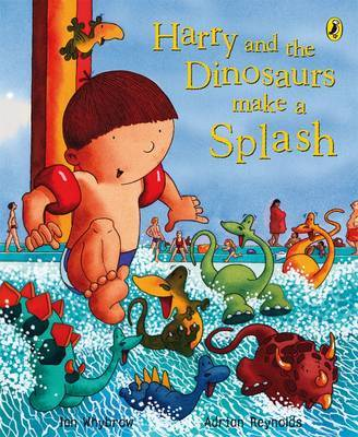 Harry and the Dinosaurs Make a Splash by Ian Whybrow image