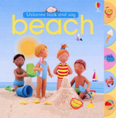 Usborne Look and Say Beach by Felicity Brooks image