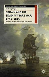 Britain and the Seventy Years War, 1744-1815 by Anthony Page image