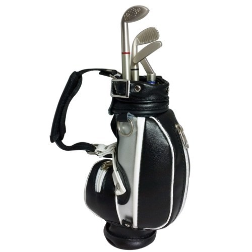 Executive Desktop Gadget Golf Bag Pen Holder | at Mighty Ape ... on golf cart trophy, forklift pen holder, golf cart tape dispenser, golf cart organizer, golf bag pen holder, golf cart radio, golf cart mugs, golf cart batteries, golf cart keychain, golf cart bags, golf cart tray,