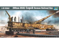 Trumpeter 1/35 280mm K5 E Leopold German Rail Road Gun - Scale Model