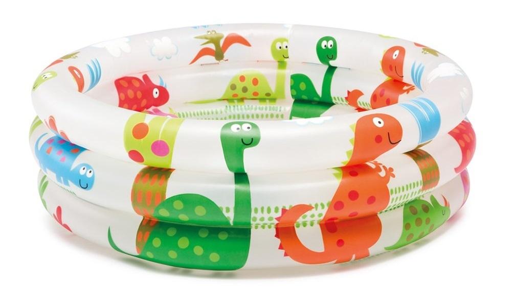 "Intex: Dinosaur 3-Ring - Baby Pool (24"" x 8.5"") image"