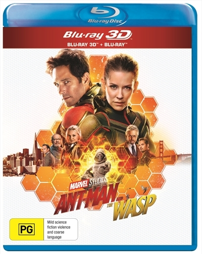 Ant-Man and the Wasp on 3D Blu-ray image
