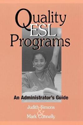 Quality ESL Programs by Judith Simons