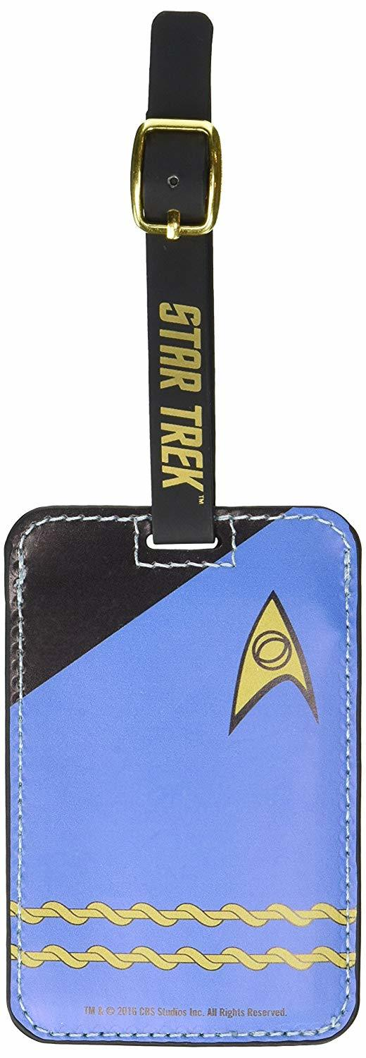 Star Trek: Blue Uniform Luggage Tag image