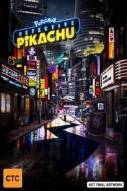 Detective Pikachu on Blu-ray image
