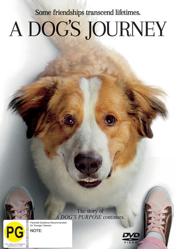 A Dog's Journey on DVD