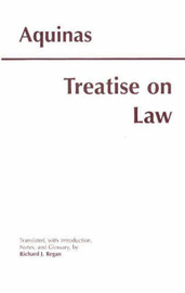 Treatise on Law by Thomas Aquinas image