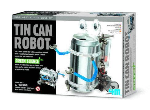 4M: Fun Mechanics Tin Can Robot