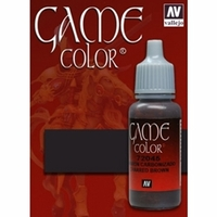 Vallejo Game Colour Charred Brown 17ml