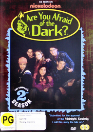 Are You Afraid Of The Dark? - Season Two on DVD