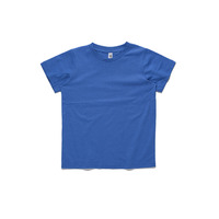 AS Colour Kid's Basic T-Shirt - Bright Royal (Size 4)