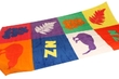 Beach Towel - Pop Kiwi Icons (140cm)