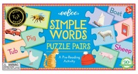 eeBoo: Simple Words - Puzzle Pairs
