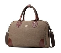 Troop London: Classic Small Holdall - Brown image