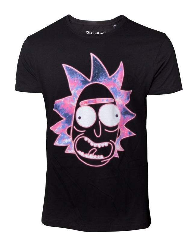Rick & Morty: Neon Rick - Men's T-Shirt (Large)