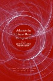 Advances in Chinese Brand Management