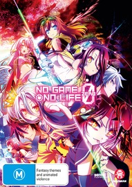 No Game No Life Zero on DVD