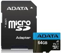 64GB Adata Premier A1 Class Smartphone MicroSD