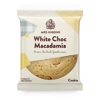 Mrs Higgins: White Choc Macadamia Cookie 85g (9 Pack)