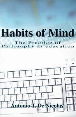 Habits of Mind by Antonio T.De Nicolas image