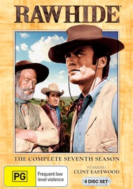 Rawhide: The Complete Seventh Season (8 Disc Boxset) on DVD
