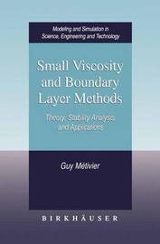 Small Viscosity and Boundary Layer Methods by G. Metivier