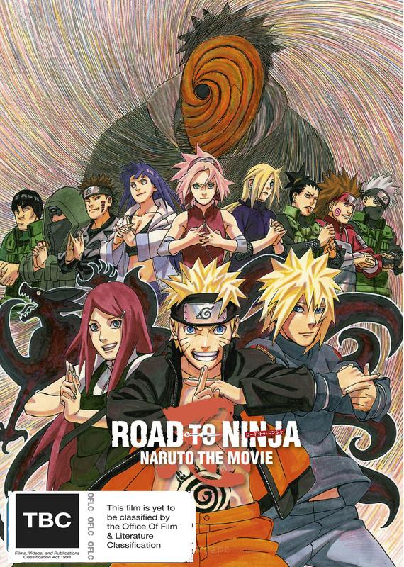 Naruto Shippuden The Movie: Road to Ninja on DVD