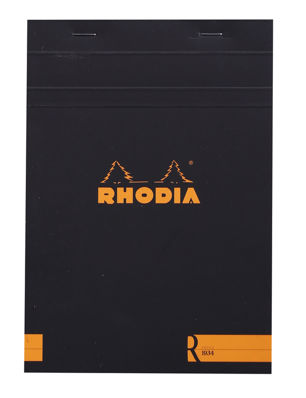 R by Rhodia with Cream Paper Black A5 - Blank