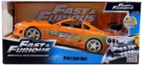 Jada: 1/24 Brian's Toyota Supra (Orange) - Diecast Model image
