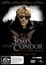 3 Days Of The Condor - 2 Disc Special Edition (2 Disc Set) on DVD