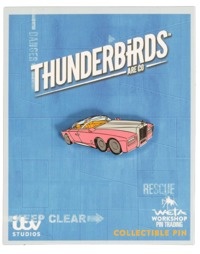 Thunderbirds FAB1 Collectible Pin