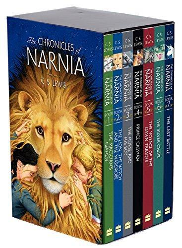 The Chronicles of Narnia Boxed Set (Complete 7 Books) by C.S Lewis